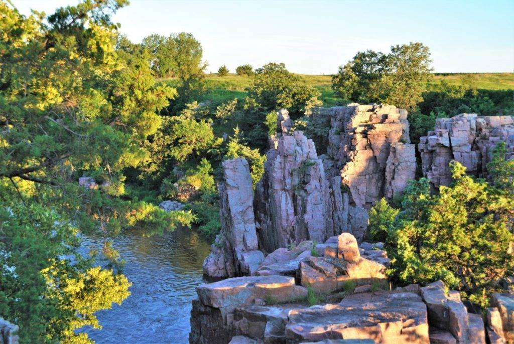 Palisades State Park in Garretson, South Dakota; photo by Mary Beth Charles