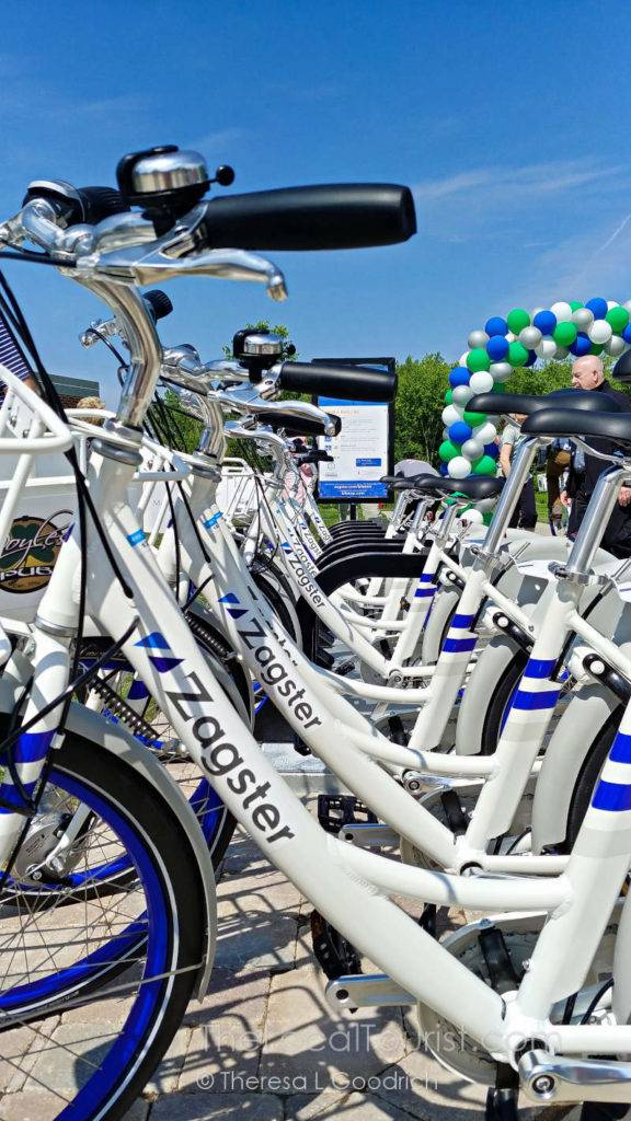 Zagster bike sharing in McHenry County Illinois