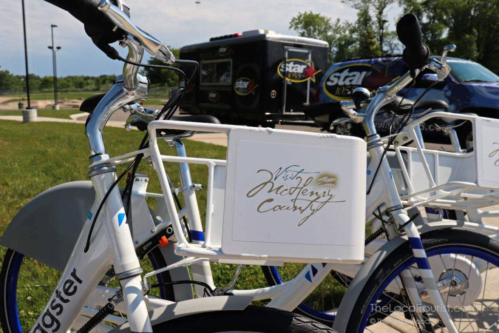 Each Zagster bike has a basket to make errands and shopping easier.