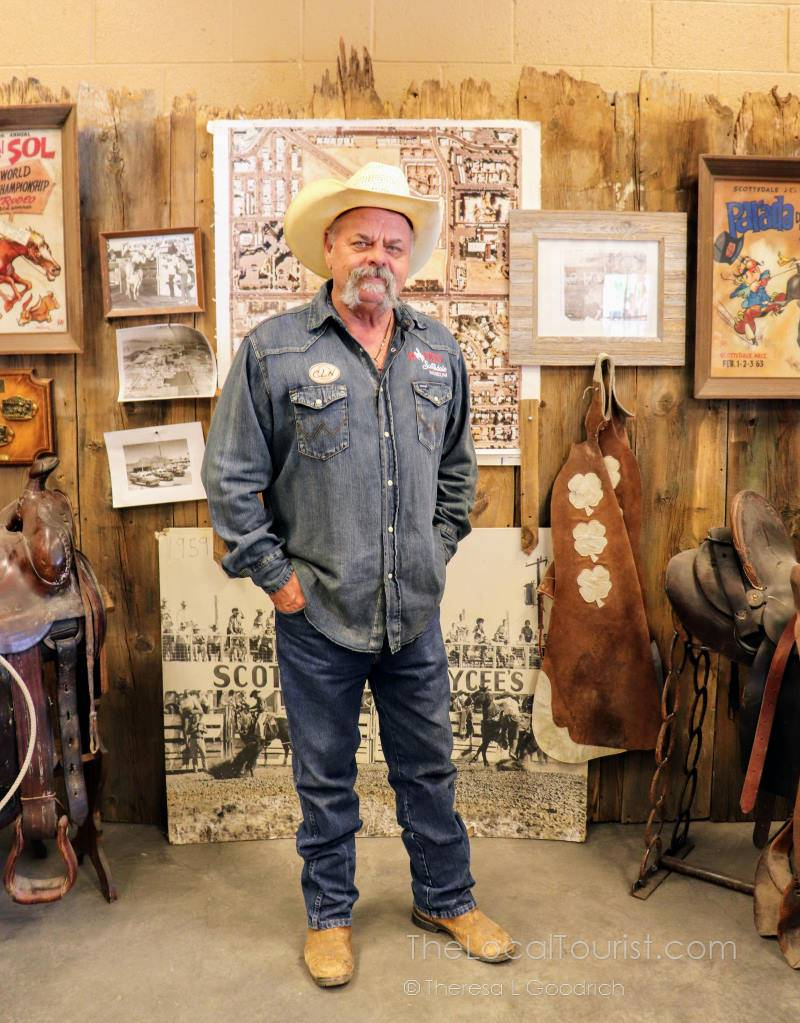 Dave Alford, founder of the Scottsdale Rodeo Museum