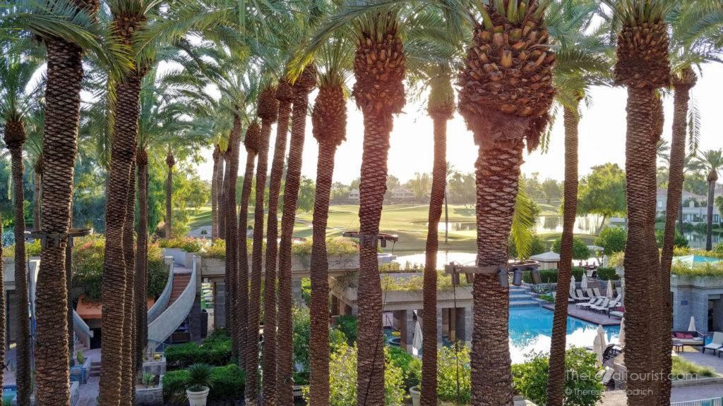 View from my balcony at Hyatt Regency Scottsdale Resort and Spa