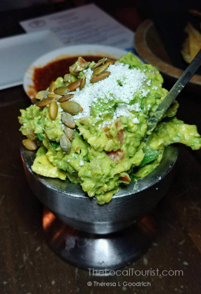Guacamole made tableside at The Mission Old Town Scottsdale