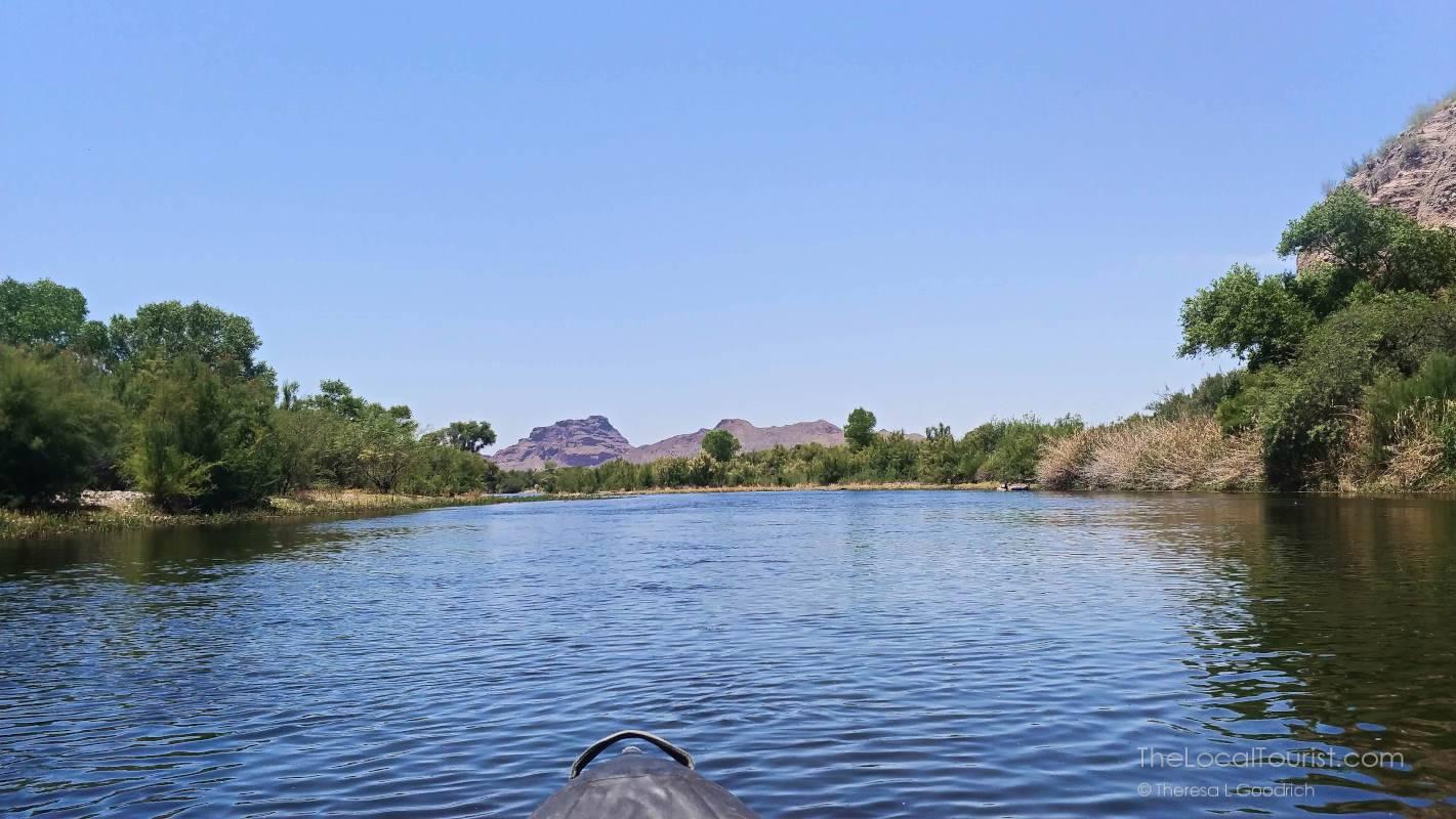 Kayaking on the Lower Salt River