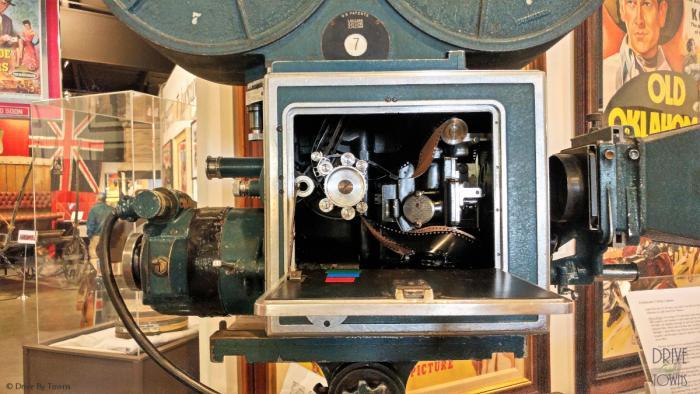 Western Film Museum Technicolor three-strip camera