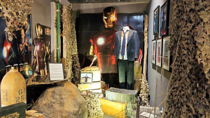 Western Film Museum Iron Man Display