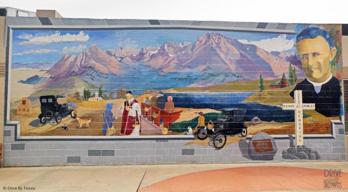 Mural in Bishop, California