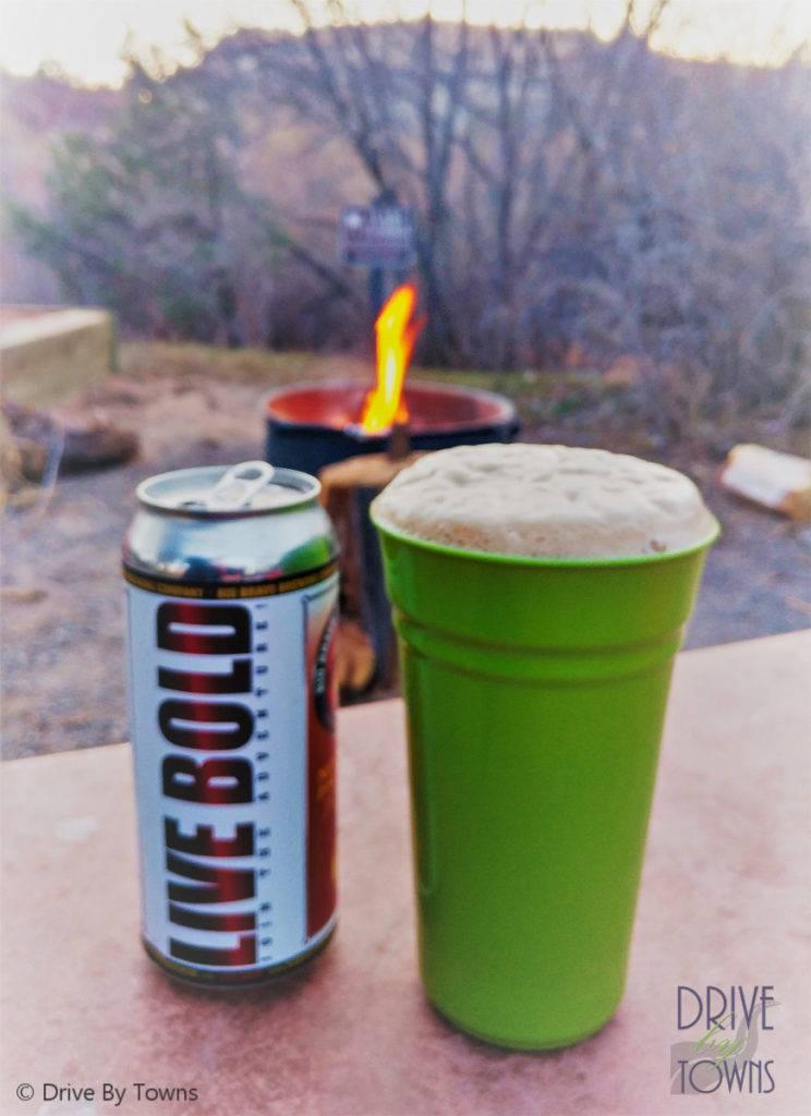 Rio Bravo Brewing New Mexico Pinon by the campfire