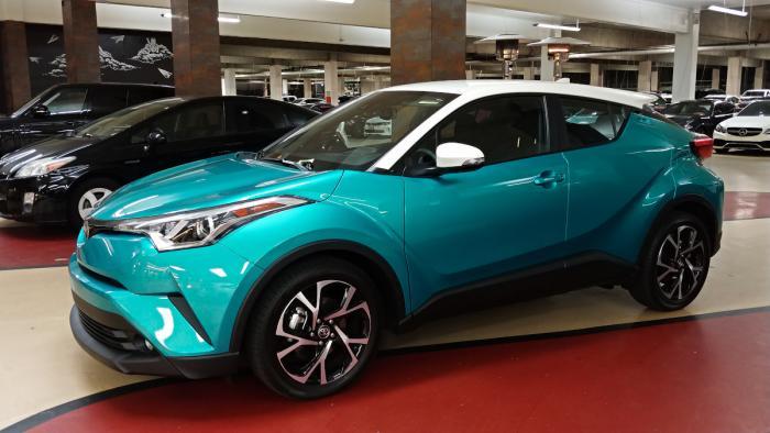 CHRis, a 2018 Toyota C-HR