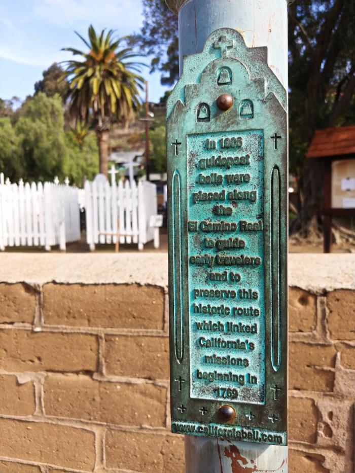 El Camino Real Guidepost Bell