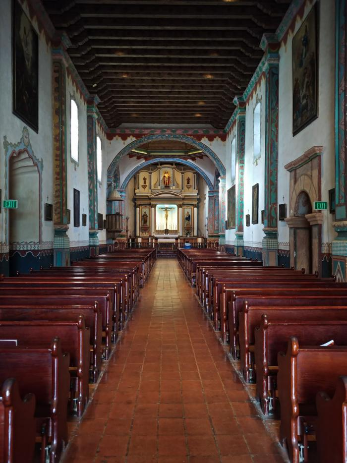 Historic Mission Church at Mission San Luis Rey