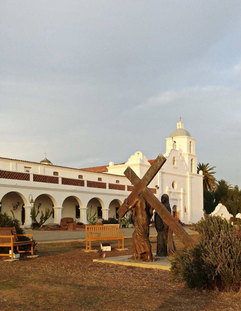 Mission San Luis Rey Museum in Oceanside