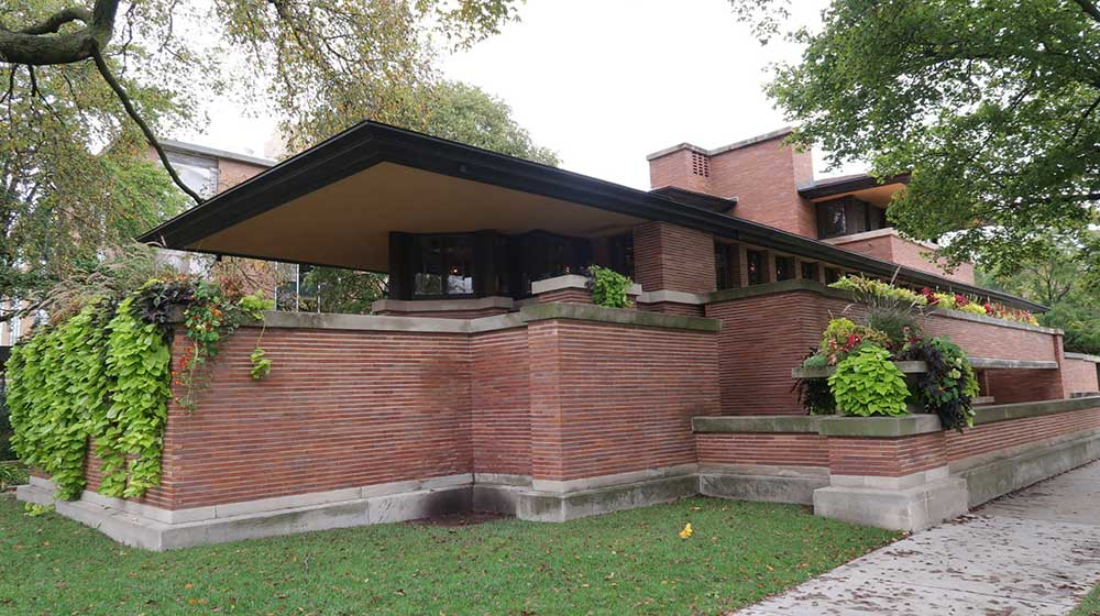 Frederick C. Robie House, photo by Emily Hines, Em's on the Road