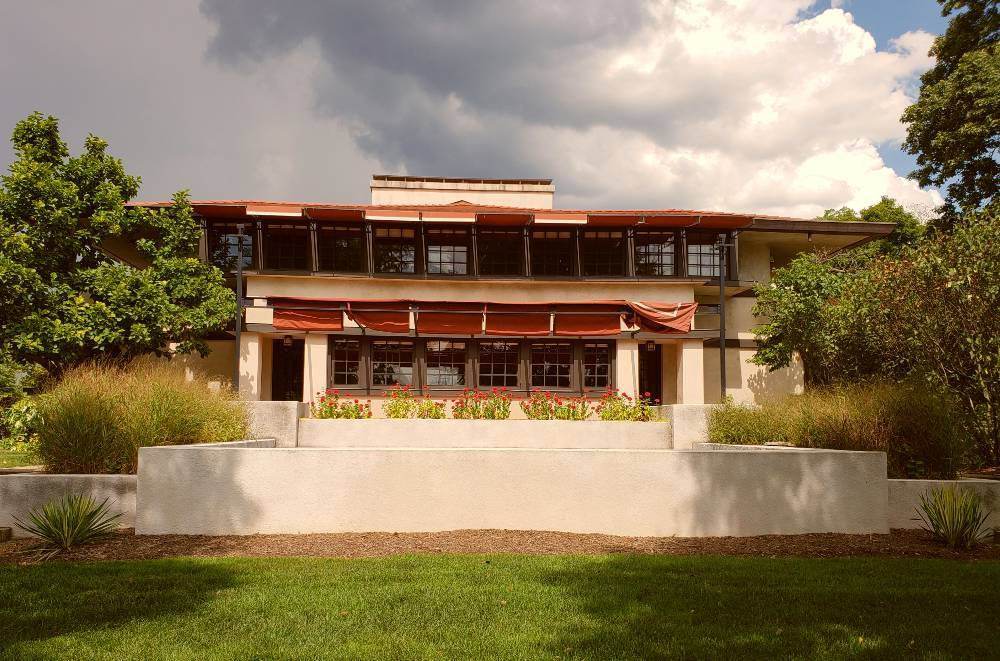Westcott House, a Frank Lloyd Wright-designed home in Springfield, Ohio; photo by Tonya Prater, Travel Inspired Living