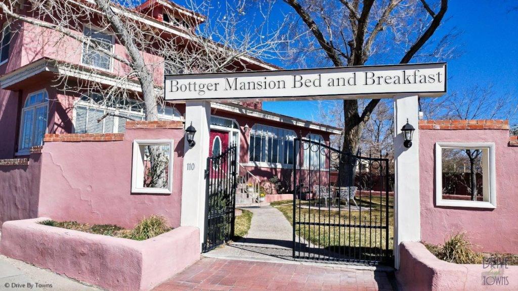 Bottger Mansion in Old Town Albuquerque