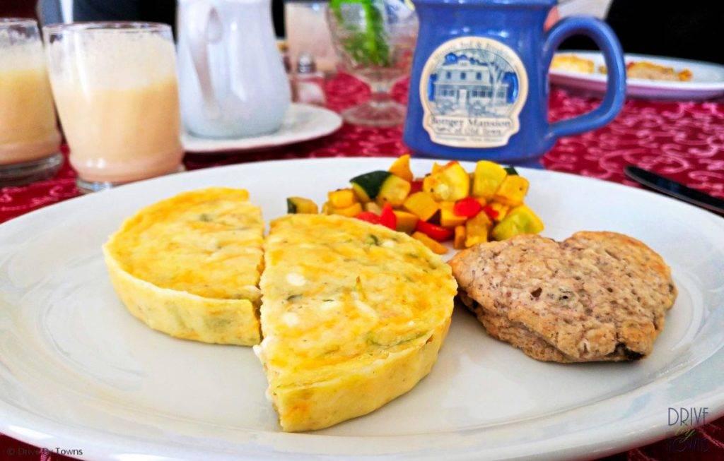 Breakfast at Bottger Mansion