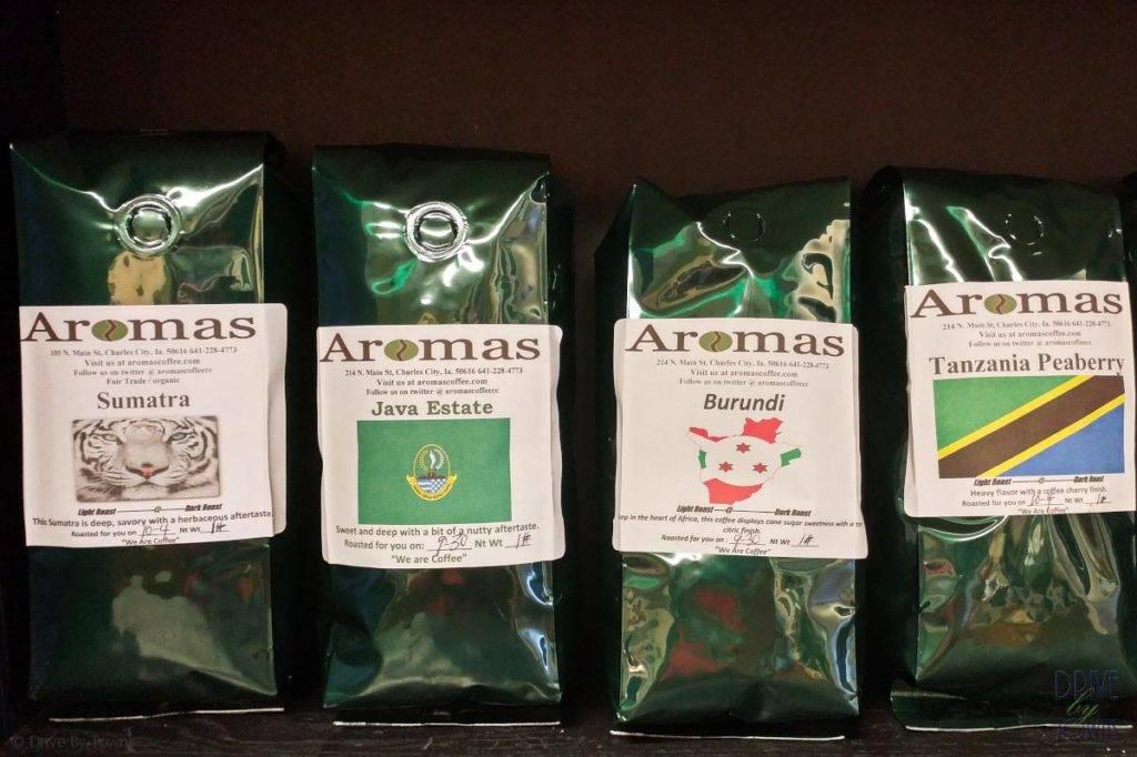 Aromas Coffee in Charles City, Iowa