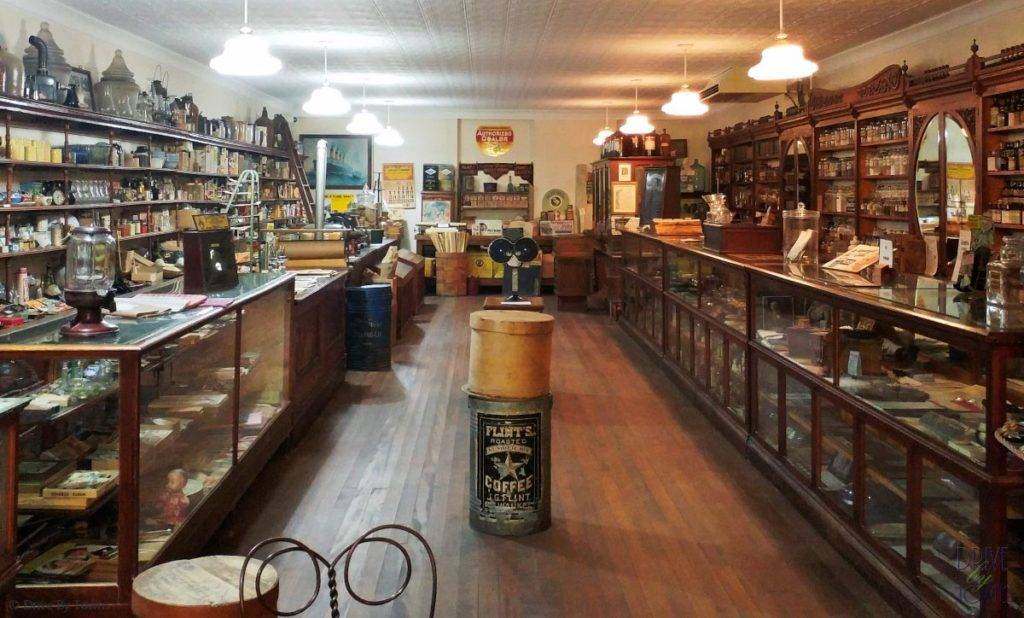 Legel Drug Store at Floyd County Historical Museum