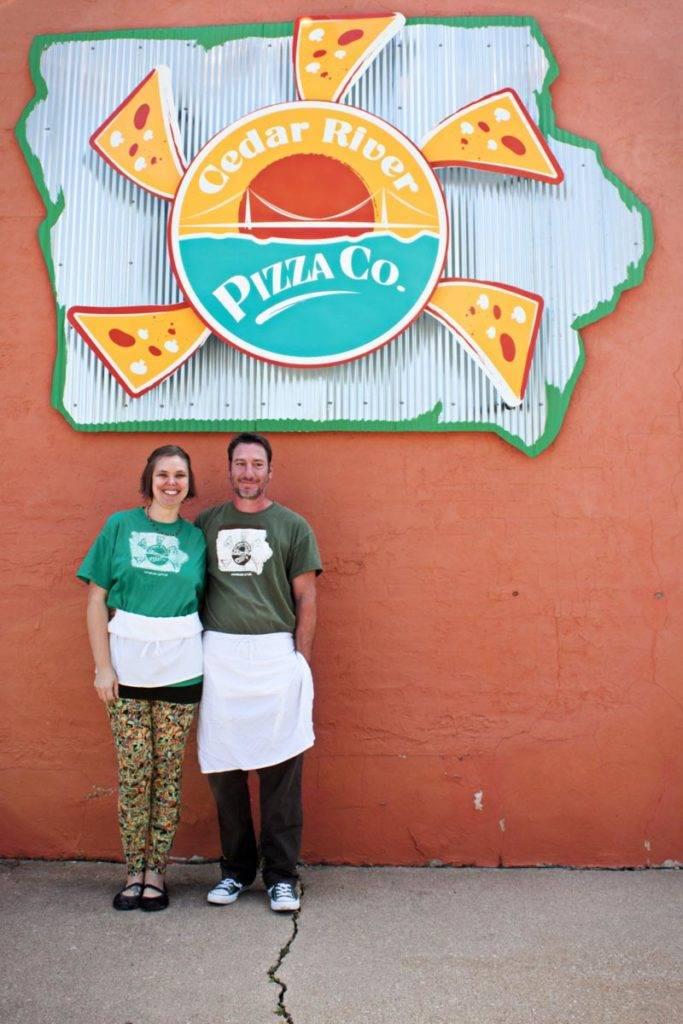 Cedar River Pizza Co in Charles City, Iowa
