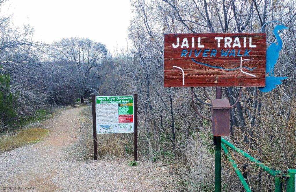 The Jail Trail in Cottonwood, Arizona