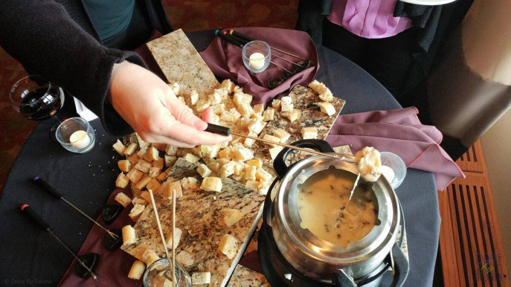 Morel Fondue at Eagle Ridge Resort