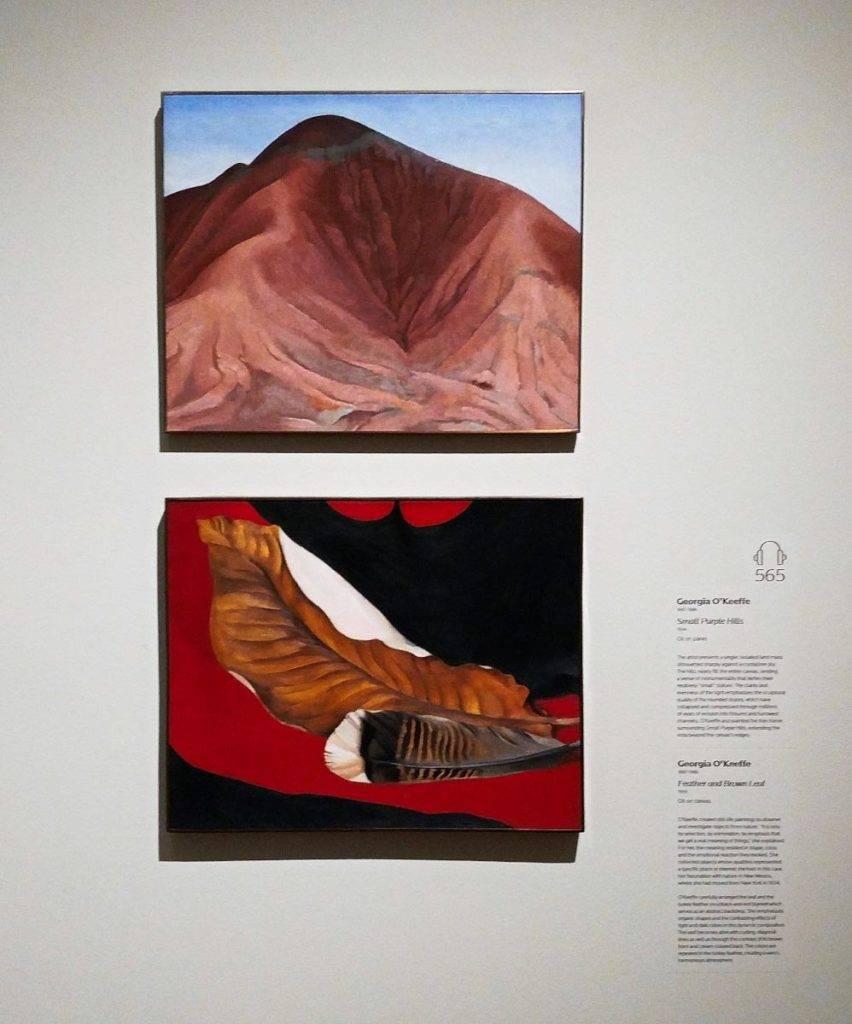 Georgia O'Keeffe at Crystal Bridges Museum of American Art