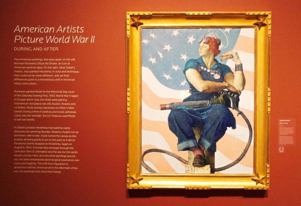 Normal Rockwell's Rosie the Riveter