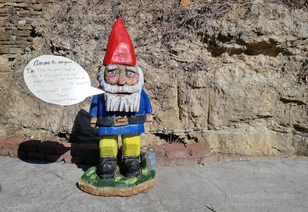 Tim the Gnome in Eureka Springs, Arkansas