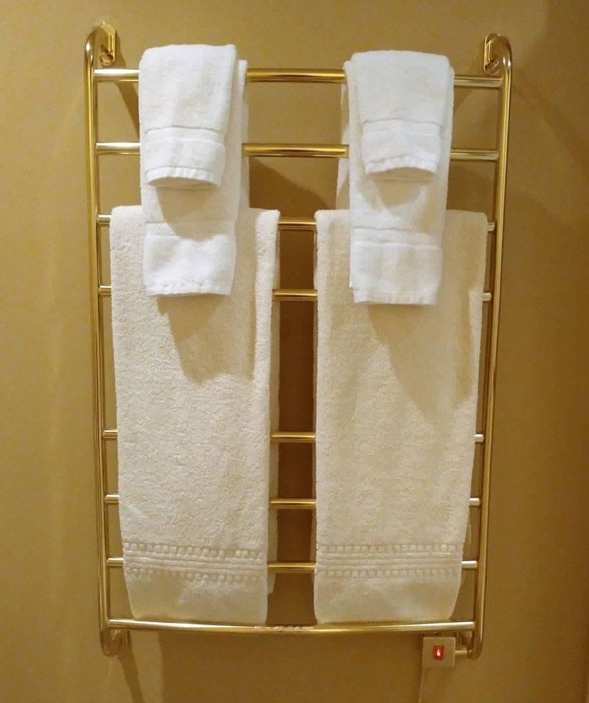 Towel Warmer at Goldmoor Inn