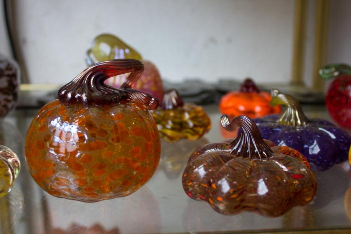 Glass Pumpkins from Hot Blown Glass