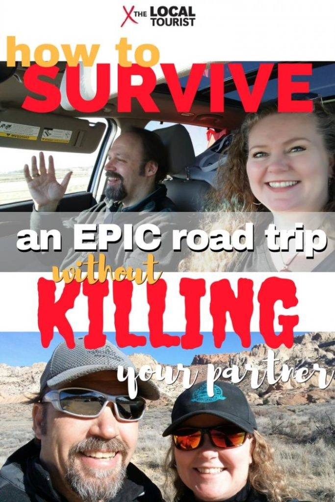 How to Survive an Epic Road Trip without killing your partner