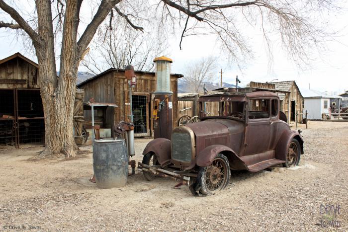 Laws Railroad Museum in Bishop, California