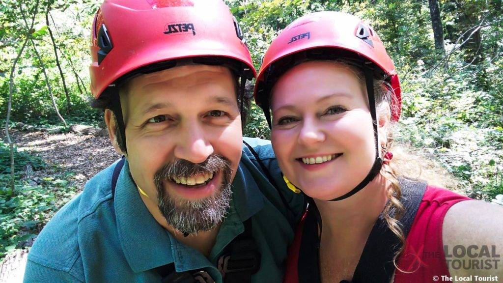 Long Hollow Canopy Tours - Jim and Theresa