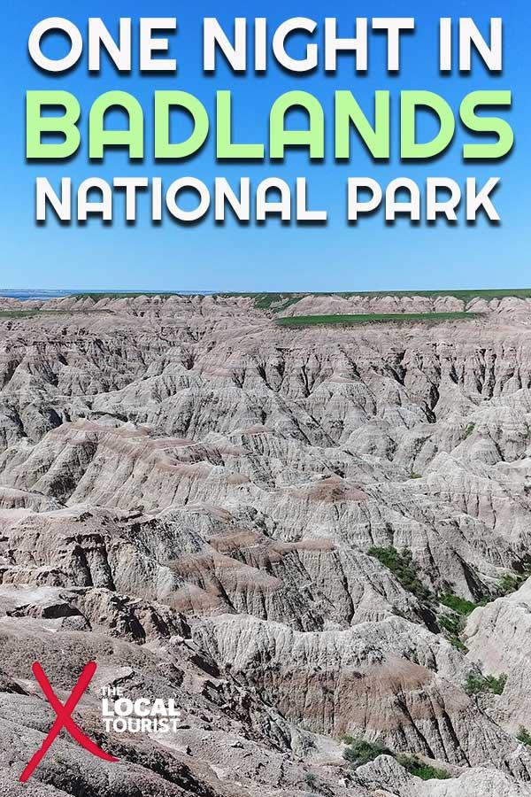 What's it like to spend one night in Badlands National Park? We camped in Sage Creek Campground, surrounded by bison and prairie dogs. Find out more about this magical place. #nationalparks #USA #southdakota #camping #outdoors #wildlife