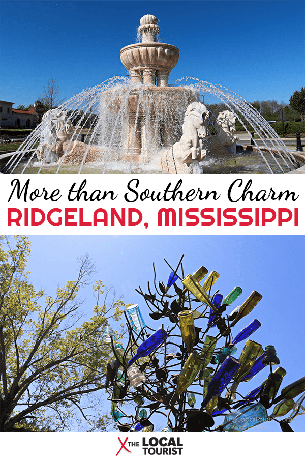Ridgeland, Mississippi, is more than Southern Charm. It's a wonderful place that will enlighten and educate more than you expect.
