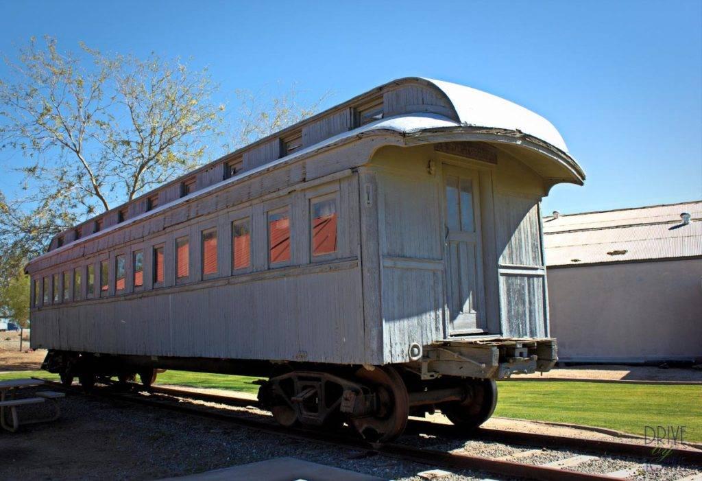Yuma Quartermaster Depot - old train car