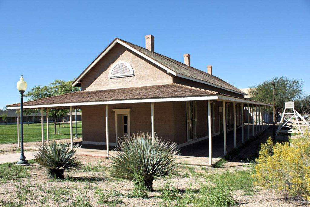Yuma Quartermaster Depot - Oldest Anglo-built house in Arizona