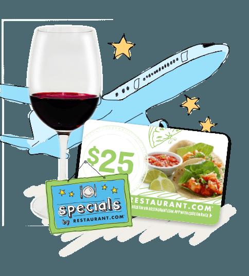 Restaurant.com - free app for saving money at local restaurants