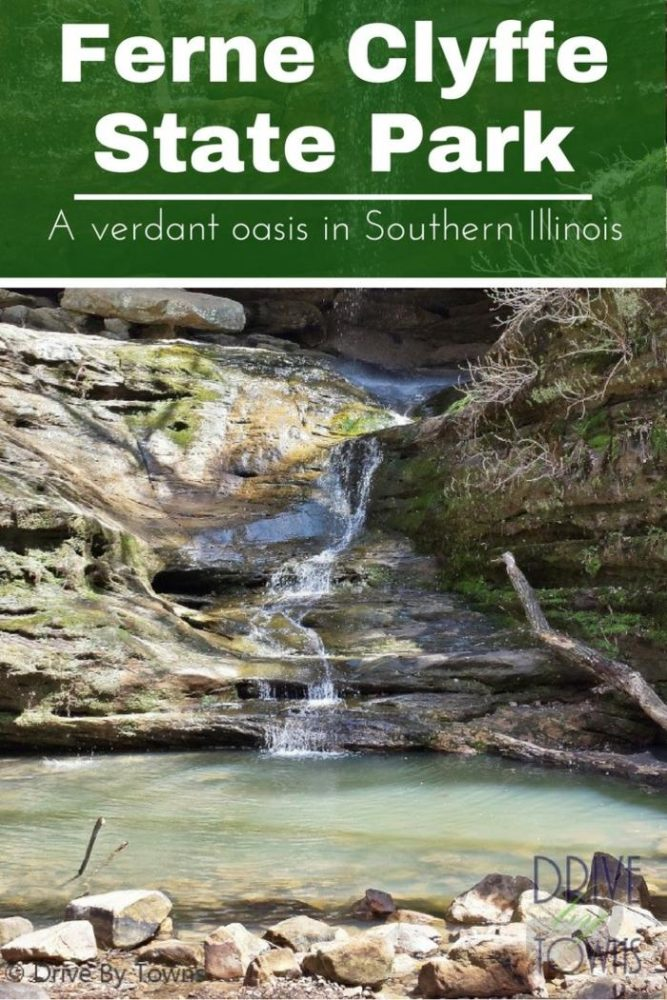 Ferne Clyffe State Park is a beautiful and verdant oasis in Southern Illinois. It's great for hiking and camping.