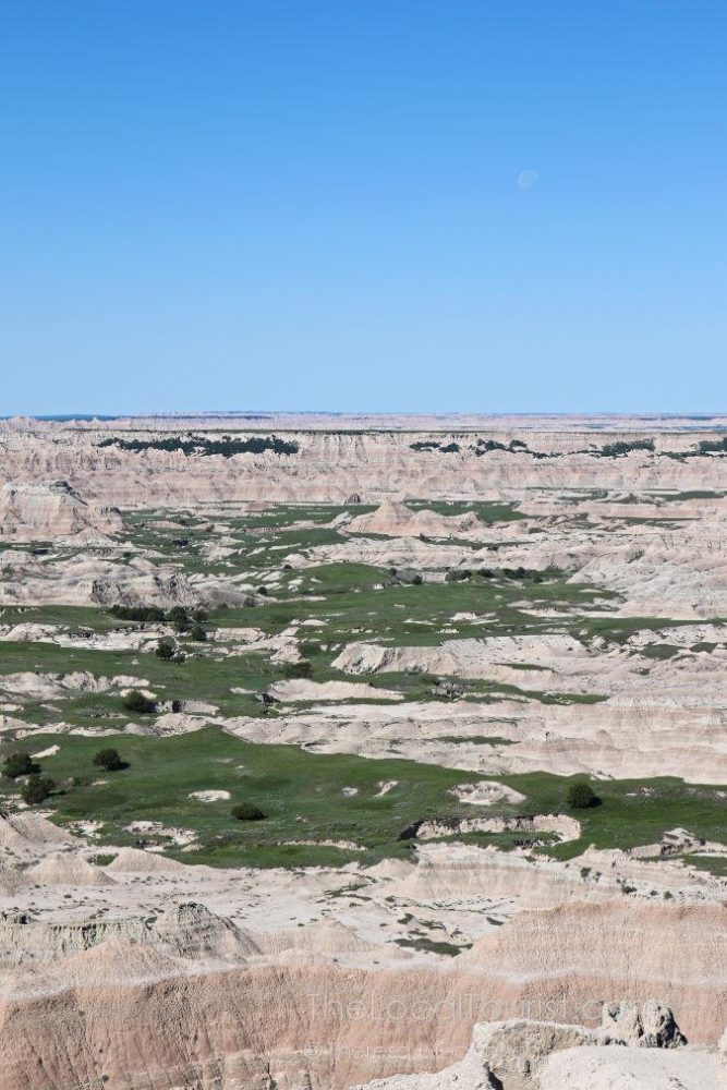 View at Badlands National Park