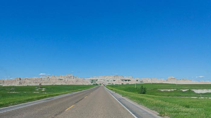 Spine of the Badlands National Park