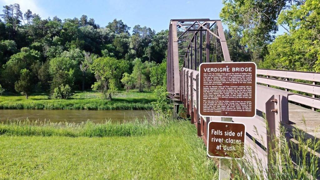Verdigre Bridge across the Niobrara River