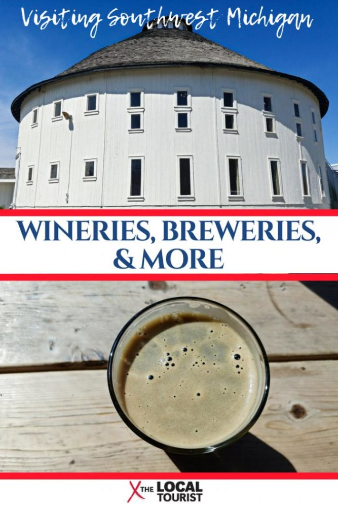 Southwest Michigan is a delicious destination with great wineries, breweries, beaches, and more. Check out why you should add this region to your travel itinerary. #Michigan #wineries #USA