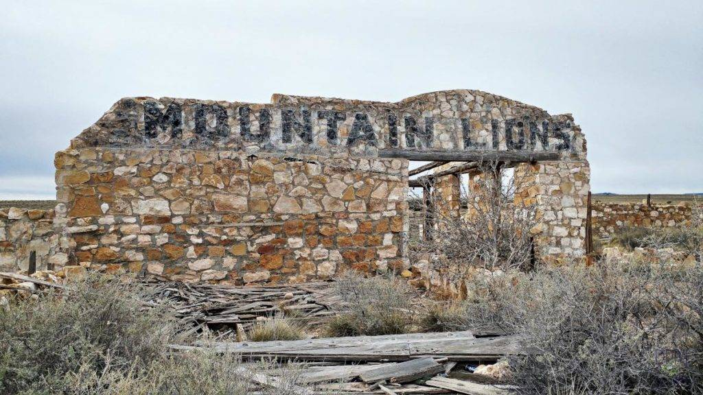 Mountain Lion Zoo at Two Guns, Arizona, on Route 66