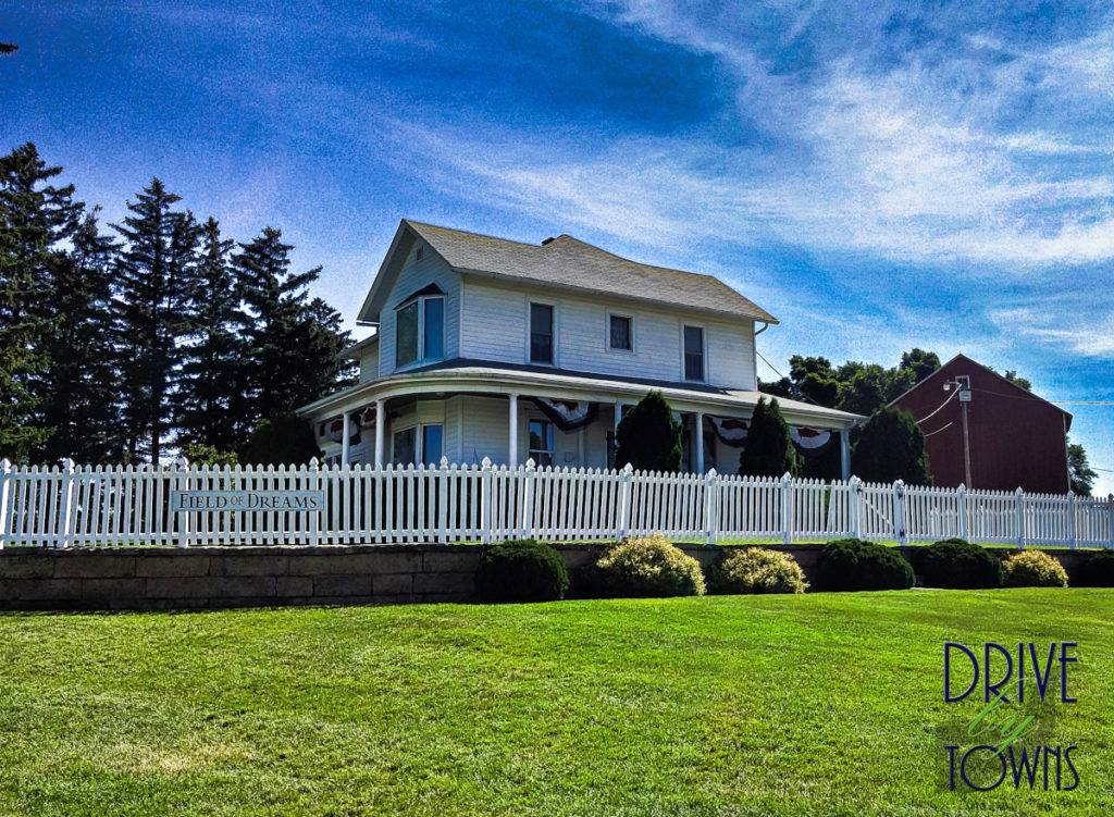 The house at the Field of Dreams movie site