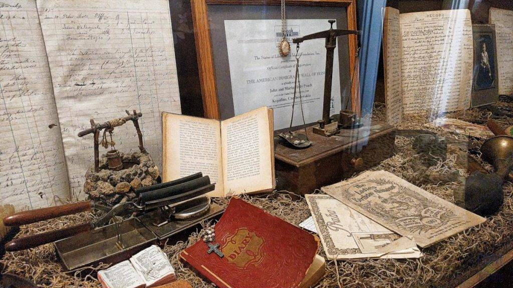 Memorabilia at the Casa de Coronado Museum