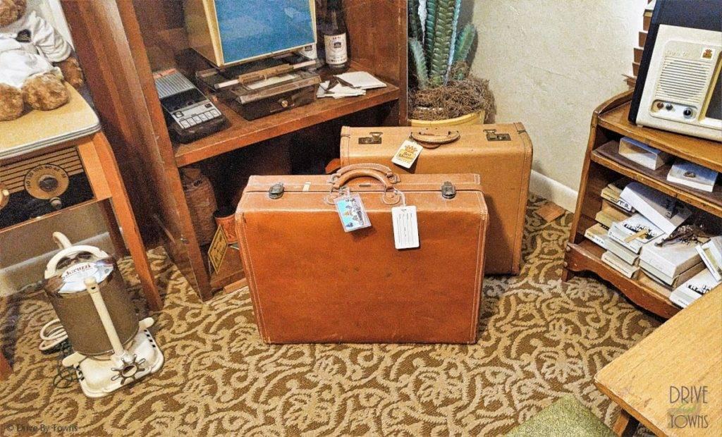 Old Suitcases at the Casa de Coronado Museum