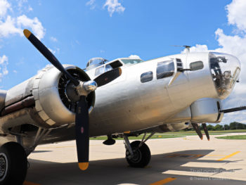Aluminum Overcast, one of the last remaining airworthy B-17 Flying Fortresses