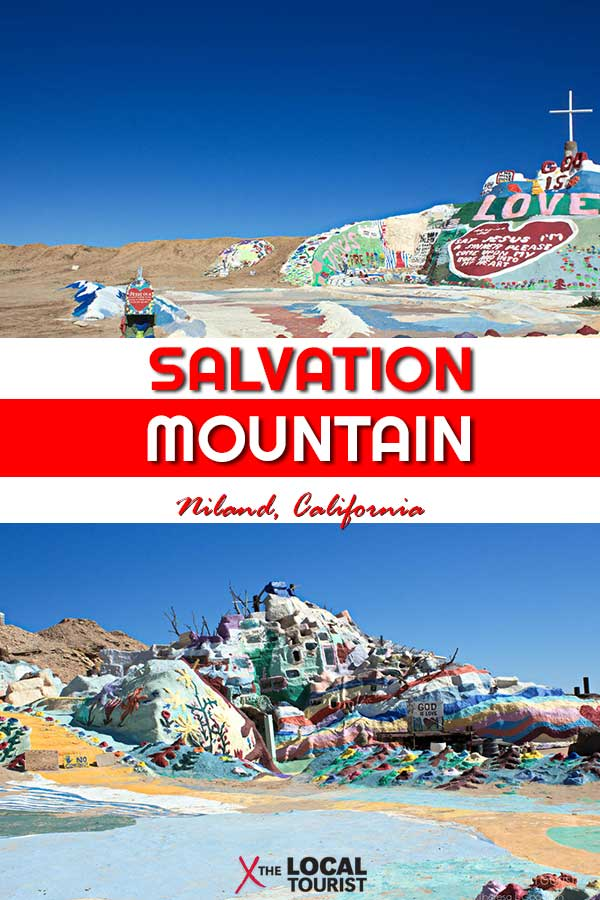 Salvation Mountain is a quirky destination in Southern California. See what it's like to visit this unique roadside attraction. California free things to do, Imperial County, California attractions