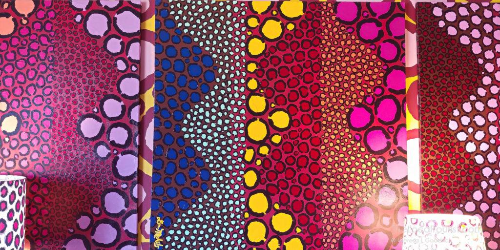 Leopard Room my Lon Michels in Saint Kate Arts Hotel, Milwaukee, Wisconsin