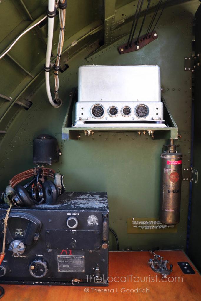 Radio room in Aluminum Overcast